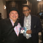 Ray Zepeda and Herbie Hancock with Step By Step CD - Monk Competition Afterparty - Loews Hollywood Hotel 11/15/2015