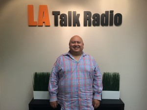 Ray Zepeda at LA Talk Radio